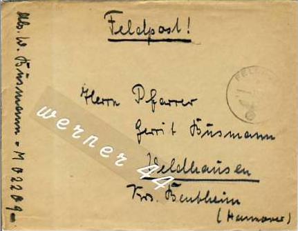 Veldhausen,Grafschaft Bentheim v. 1943  Frau Busmann  (26483)