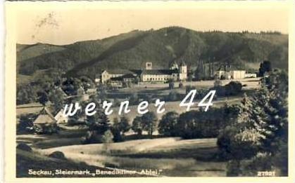 Steckau v. 1933  Benediktiner Abtei  - siehe Foto  (26732)