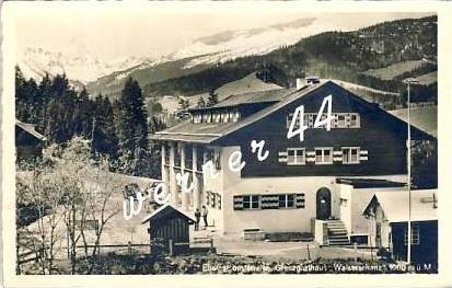 Wien v. 1941  Grenzhaus Walserschanz   - siehe Foto  (26747)