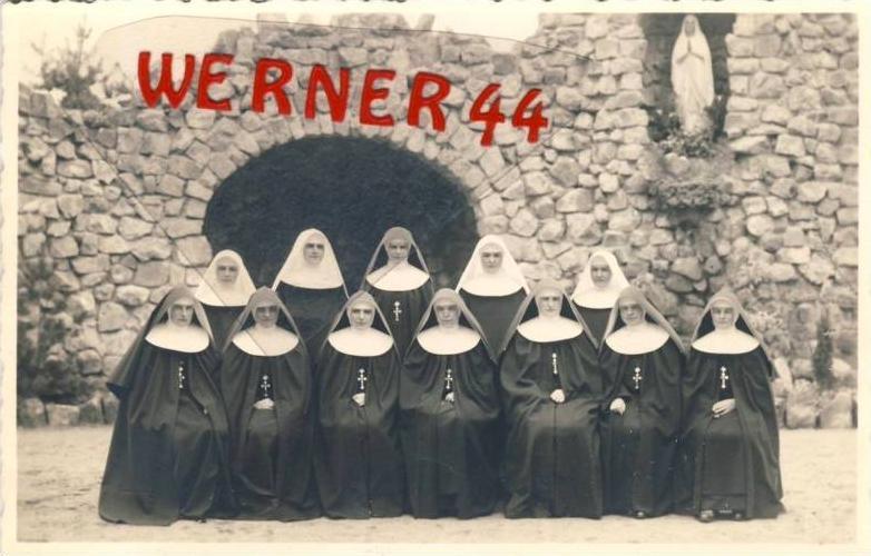Unter Pranstätten v. 1925  Marien Grotte und die Nonnen  --  siehe Foto !!   (27668)