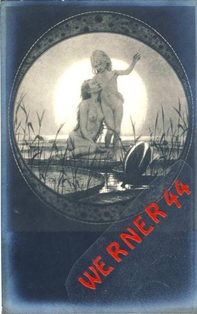 Vom Himmel von Fidus v. 1930  - siehe Foto !!  (36170)