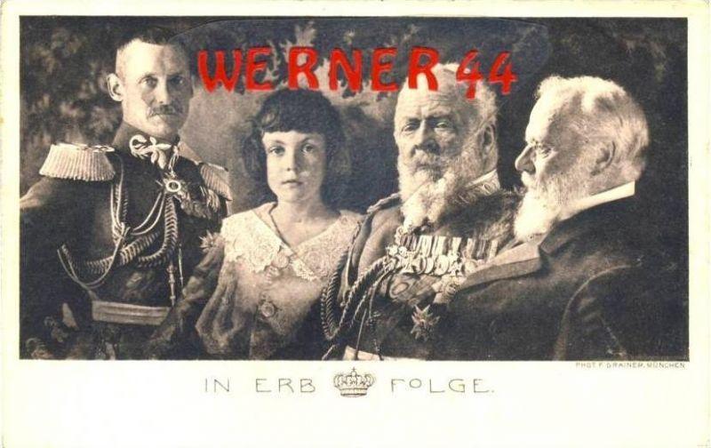 In ERBFOLGE v. 1912  - siehe Foto !!  (36174)