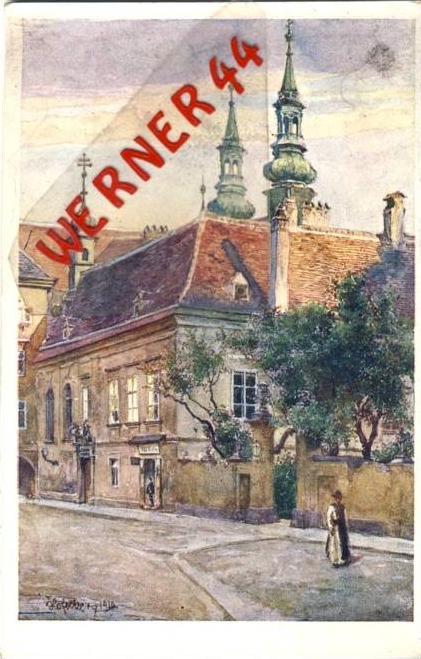 Wien v. 1918  Heiligenkreuzerhot - siehe Foto !!  (36193)
