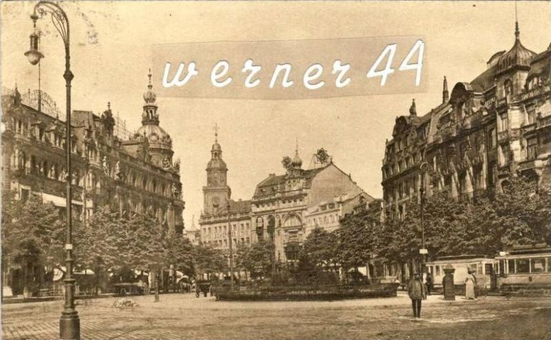 Frankfurt v. 1915  Rossmarkt -- siehe Foto !!  (32171)