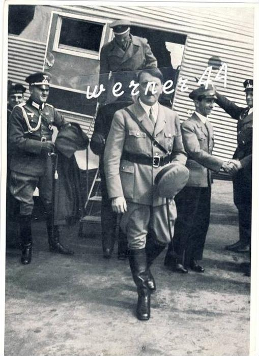 A.H v. 1936 Die Luftfahrt wird gefördert  -- siehe Foto !!  (32177)