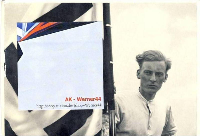 Sammelwerk Nr. 8  v. 1936  Unsere Fahne flattert -- siehe Foto !!  (32182)