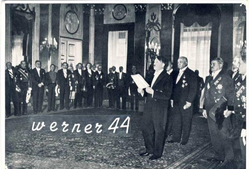 Sammelwerk Nr. 15  v. 1934 A.-H.-- Neujahrsempfang des diplomatischen Korps 1934 -- siehe Foto !!  (32183)