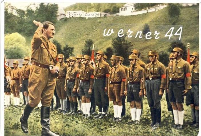 Sammelwerk Nr. 15  v. 1932  A.H. begrüßt die Berchtesgadener Jugend,Wahlkampf von 1932-- siehe Foto !!  (32185)