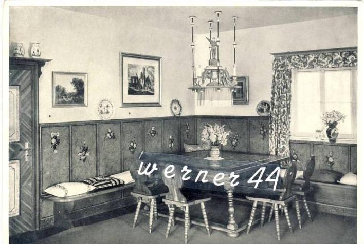 Sammelwerk Nr. 8  v. 1933  So wohnt der F. auf dem Obersalzberg bei. Berchtesgaden  -- siehe Foto !!  (32189)