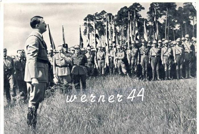 Sammelwerk Nr. 15  v. 1933 Übernahme der  Reichsführerschule in Bernau im Jahre 1933-- siehe Foto !!  (32199-5)