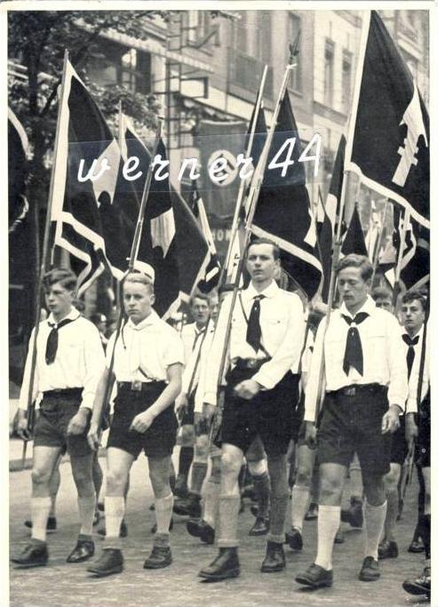 Sammelwerk Nr. 8  v. 1933  Deutsche Jugend -- siehe Foto !!  (32199-8)