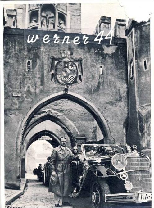 Sammelwerk Nr. 15  v. 1934  A.H.-Besuch der Festung Landsberg 1934- siehe Foto !!  (32199-14)