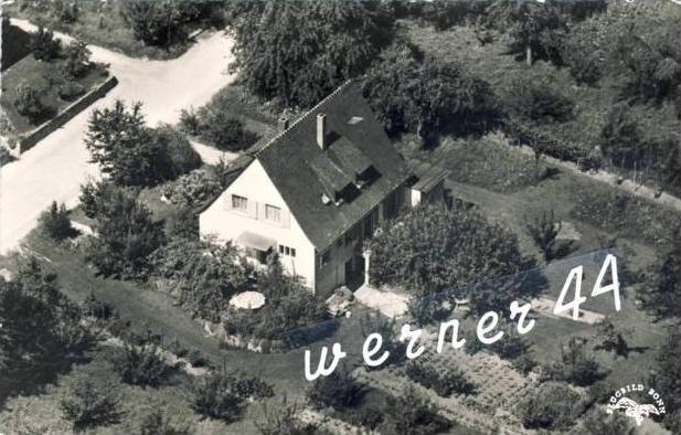 Schliegen / Marktgräflerland v. 1955  Gästehaus-Hummel, Bifang 15 -- siehe Foto !!  (32658)