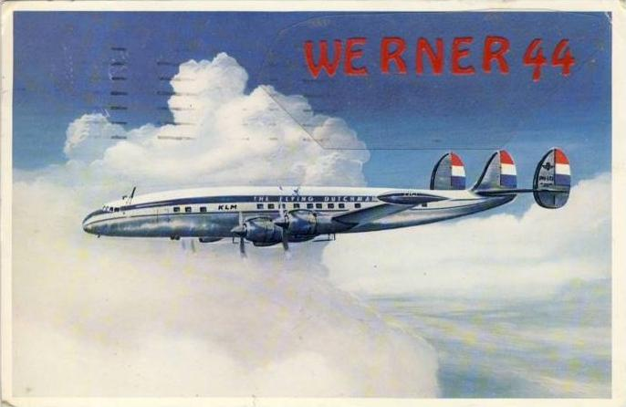 Lockheed Super Constellation L 1049 G v. 1956  --  siehe Foto !!   (32214)