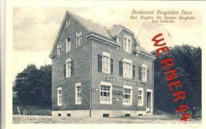 Birgden v. 1941  Restaurant Bergisches Haus der Barmer Bergbahn--Emil Diederichs --  siehe Foto !!   (35253)