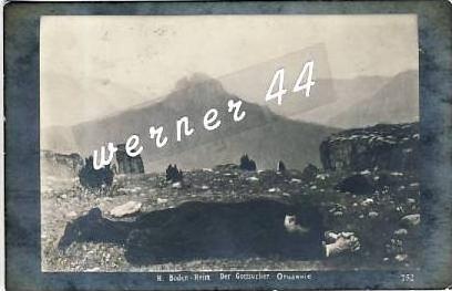 Bahoko v. 1914  Mann liegt im Vordergrund--genau hinsehen !! --  siehe Foto !!   (26877)