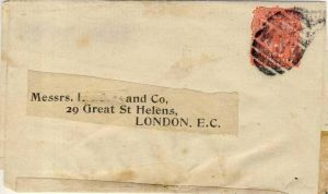 London v. 1890 ?  --  siehe Foto !!   (35153)