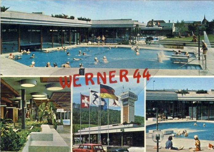 Zurzacher v. 1975  Thermalquelle  --  siehe Foto !!   (35156)