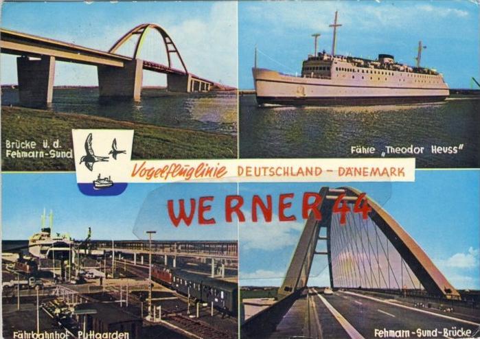Puttgarden v. 1975  Deutschland--Dänemark  --  siehe Foto !!   (35157)