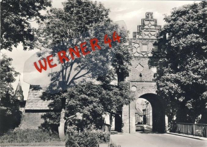 Salzwedel v. 1979  Das Steintor --  siehe Foto !!   (35161)