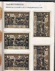 Bitterfeld v. 1921  6x50, 6x75 Pfennig  --  siehe Foto !!  ( GUTSCHEIN )   (1145)