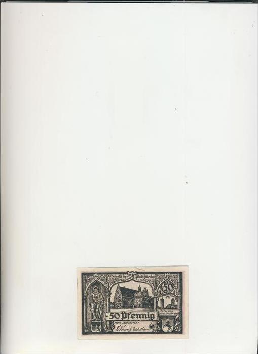 Jüterbog v. 1921   50 Pfennig  ---   ( NOTGELD )   (1473)