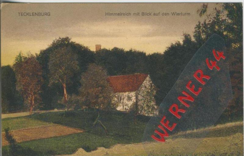 Tecklenburg v. 1926   Himmelreich mit Blick auf den Wierturm  --  siehe Foto !!   (36448)