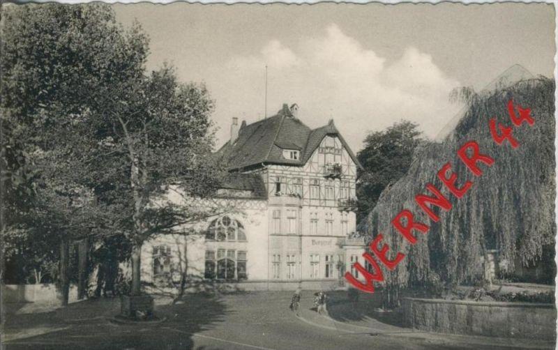 Tecklenburg v. 1958   Burggraf mit Bismarckeiche  --  siehe Foto !!   (36449)