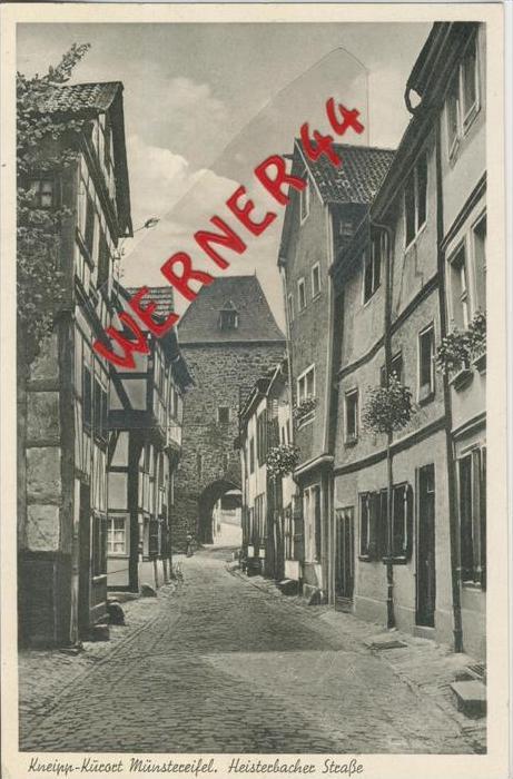 Münstereifel v. 1952   Heisterbacher Strasse   --  siehe Foto !!   (36458)