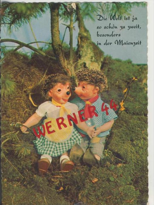 Mecki Karte v. 1960   Die Welt ist ja so schön  ---  siehe Foto !!   (27786)