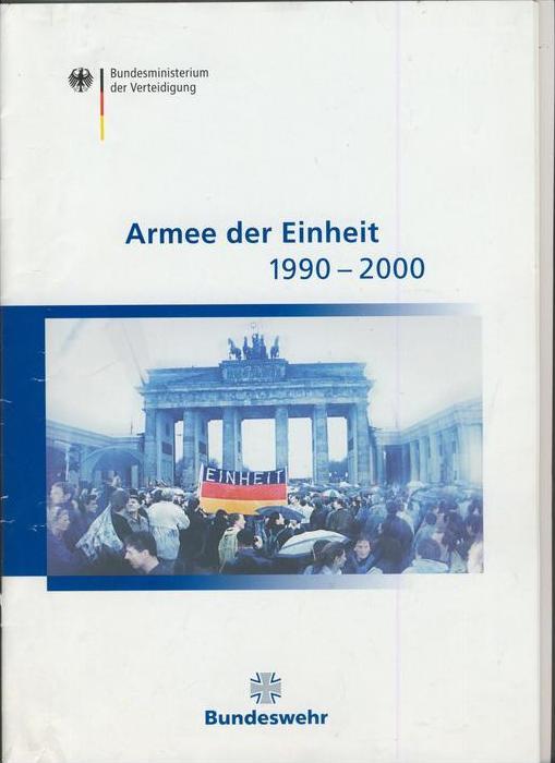 Bundeswehr v. 1990-2000  Armee der Einheit  --- siehe Foto !!   (28250)