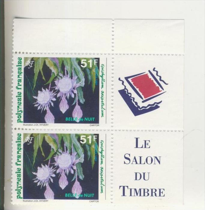 Frankreich v. 1993   2 x 51 F  --  Blume ......(5)