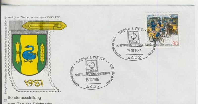 Gronau vom 15.10.1987  Sonderausstellung zum Tag der Briefmarke