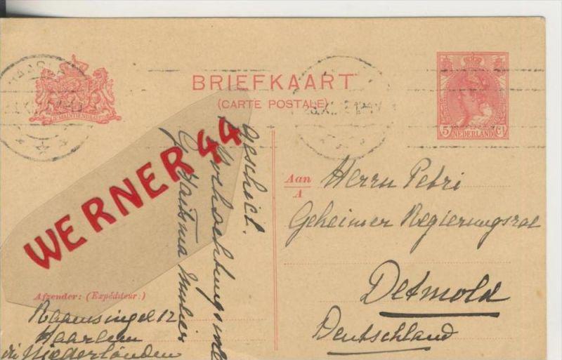 Haarlem v. 1918       (Postkarte)   ---  siehe Foto !!   (28799-9)