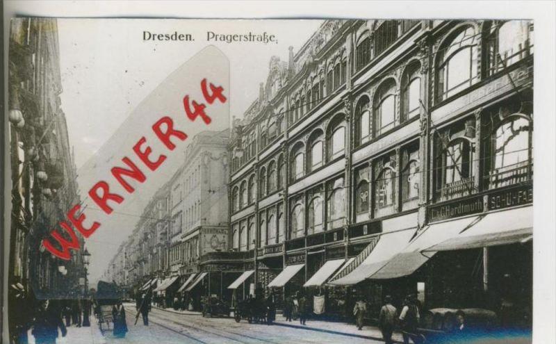 Dresden v. 1902  Pragerstrasse  ---  siehe Foto !!   (28502)