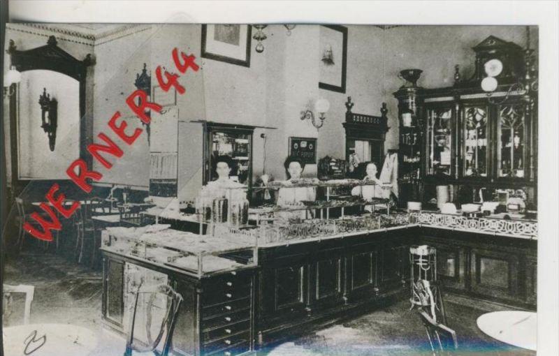 Dresden v. 1906  Cafe Limberg---INNENANSICHT--- ,Pragerstrasse 10   ---  siehe Foto !!   (28506)
