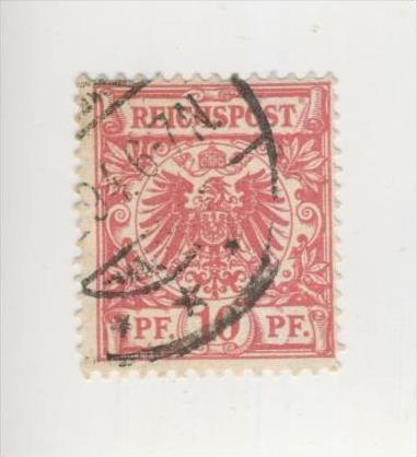Deutsches Reich v. 1889   10 Pfennig  (224)
