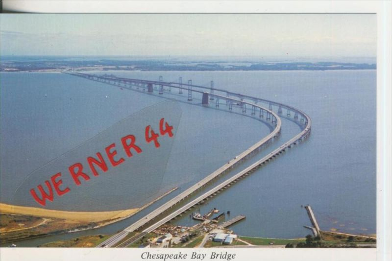 Baltimore v. 1982  Cheapeake Bay Bridge  ---  siehe Foto !!   (29103)