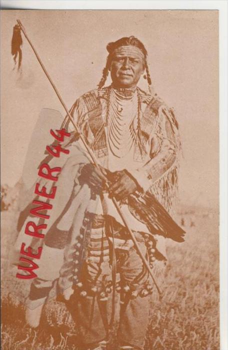 Museum of the American Indian  v. 1978  Blackfeet Man ---  siehe Foto !!   (29132)