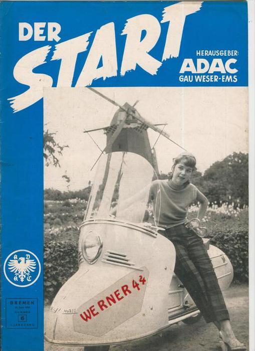 ADAC Gau Weser-Ems, Der Start  1953 - Nr. 6 -- siehe beschr. !!