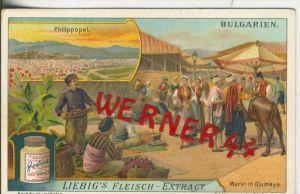 Liebig`s - Bulgarien, Philippopel,Markt in Djumaya -- Sammelbild   (15)