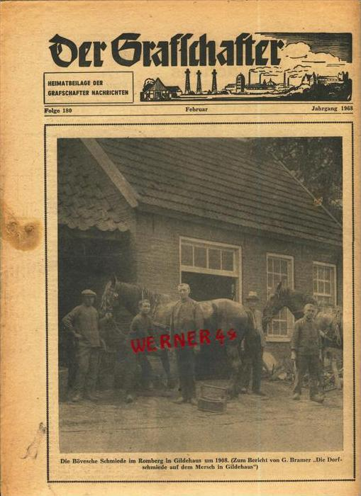 Der Grafschafter , Folge 180, Februar 1968  --  siehe Foto !!   (0)