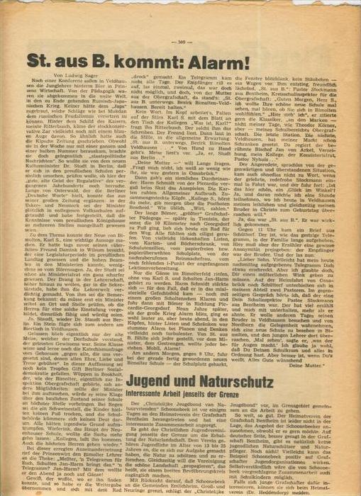 Der Grafschafter , Folge 182, April 1968  --  siehe Foto !!   (0) 5