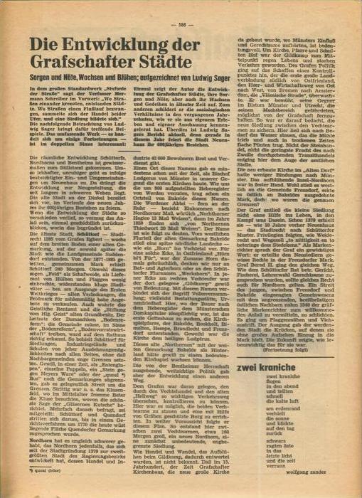 Der Grafschafter , Folge 192, Februar 1969  --  siehe Foto !!   (0) 1