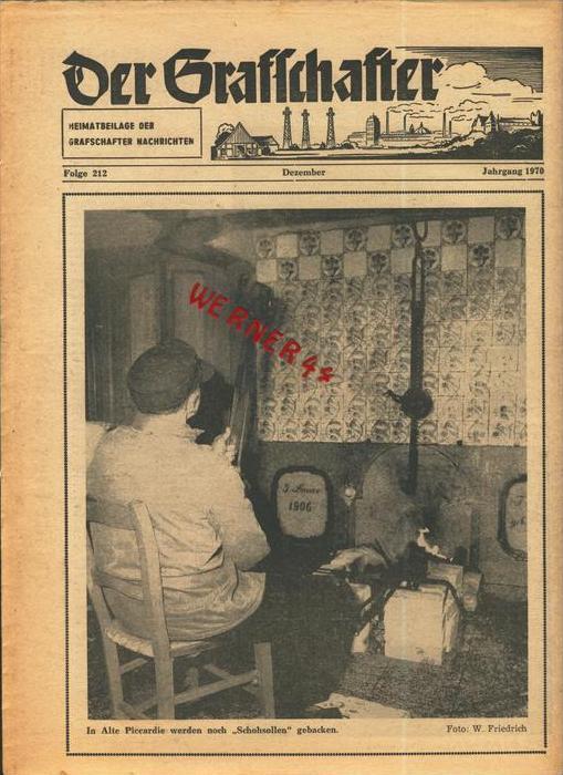 Der Grafschafter , Folge 212, Dezember 1970  --  siehe Foto !!   (0) 0