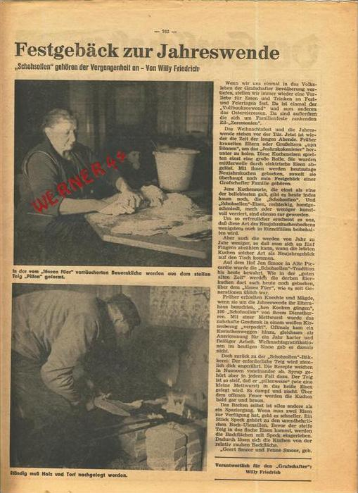 Der Grafschafter , Folge 212, Dezember 1970  --  siehe Foto !!   (0) 1