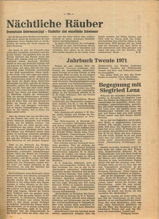Der Grafschafter , Folge 212, Dezember 1970  --  siehe Foto !!   (0) 4