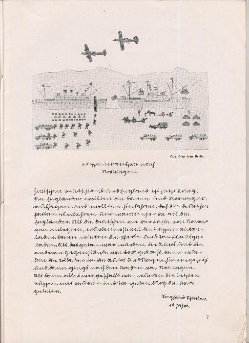 Rundbrief für Kindergärtnerinnen v. 1940   Heft 2  - siehe Foto !!  (ohne) 3