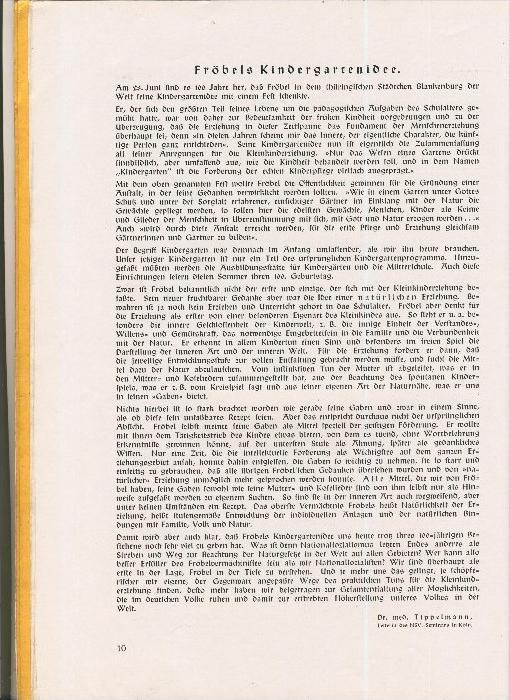 Rundbrief für Kindergärtnerinnen v. 1940   Heft 2  - siehe Foto !!  (ohne) 4