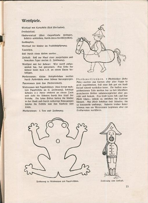 Rundbrief für Kindergärtnerinnen v. 1940   Heft 2  - siehe Foto !!  (ohne) 6